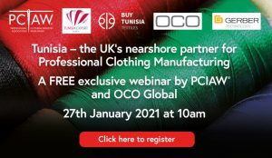 FREE webinar: Tunisia – the UK's nearshore partner for Professional Clothing Manufacturing